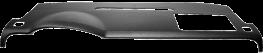 Dash Cover 2007 - 2012 Chevy Avalanche - Denali SLT & LTZ - Suburban - Yukon - Yukon XL - Tahoe - Silverado 2500 & 3500