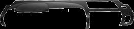 Lower Dash Cover 2007 - 2012 Chevy Silverado - Sierra 1500 - SL - SLE - SLE1 - SLE2 - Sierra 2500 - Sierra 3500