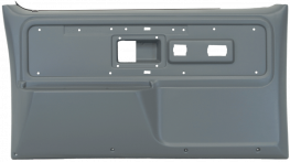 Front Door Panels - Silverado Type - 1977 - 1980 Chevy Crewcab