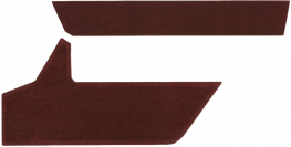 Two Piece Cloth Trim Kit 1988 - 1994 Chevy Full Size Pickup