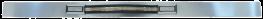 Front Brushed Aluminum Inserts 1981 - 1991 Crewcab
