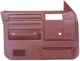 Front Door Panels 1982 1985 S-10 S-15 Blazer Pickup
