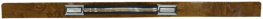 Front Wood Grain Trim Inserts w/ Pull Straps 1981 - 1991 Crewcab