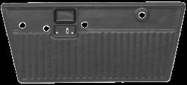 Pleated Replacement Door Panels 1968 1977 bronco