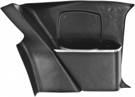 Replacement Right Map Pocket 1968 - 1985 Fiat Spider 124 & Spider 2000